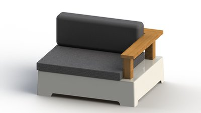 "FixForm ""Roy"" Lounge Left Module - Small"